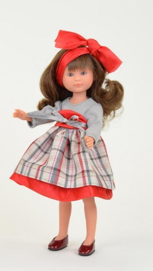 Кукла ASI Селия - 30 см (в клетчатом платье)