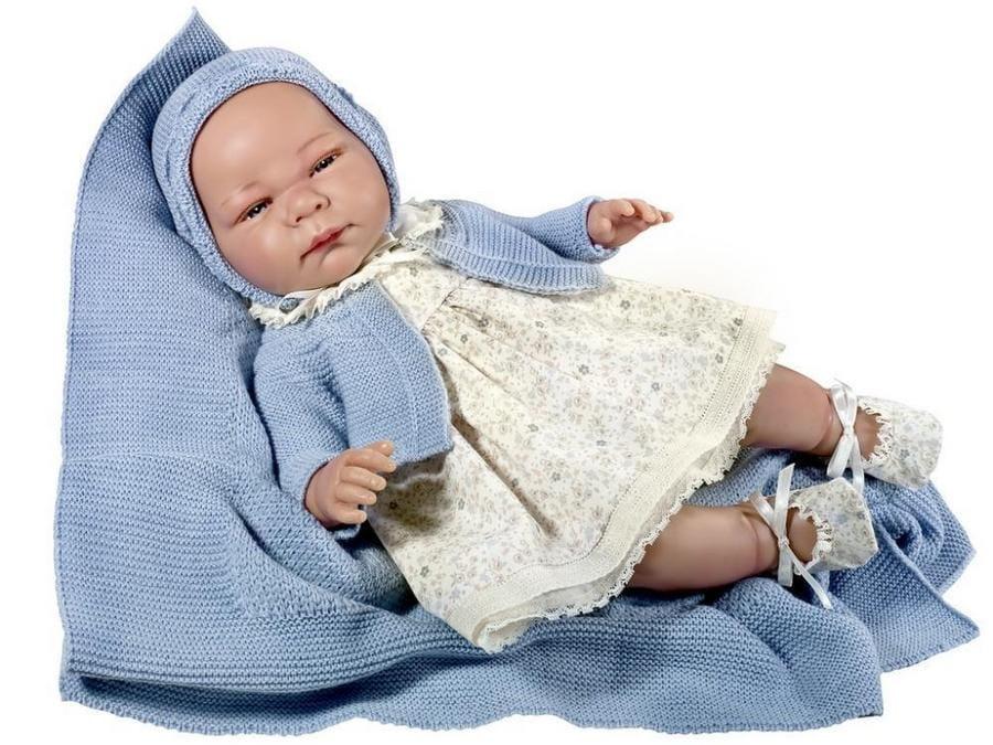 Кукла ASI Химена - 46 см (в цветочном платье)