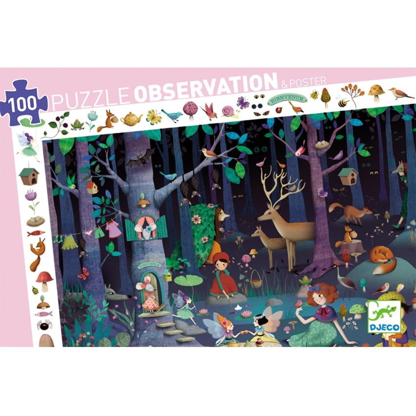Пазл DJECO Таинственный лес
