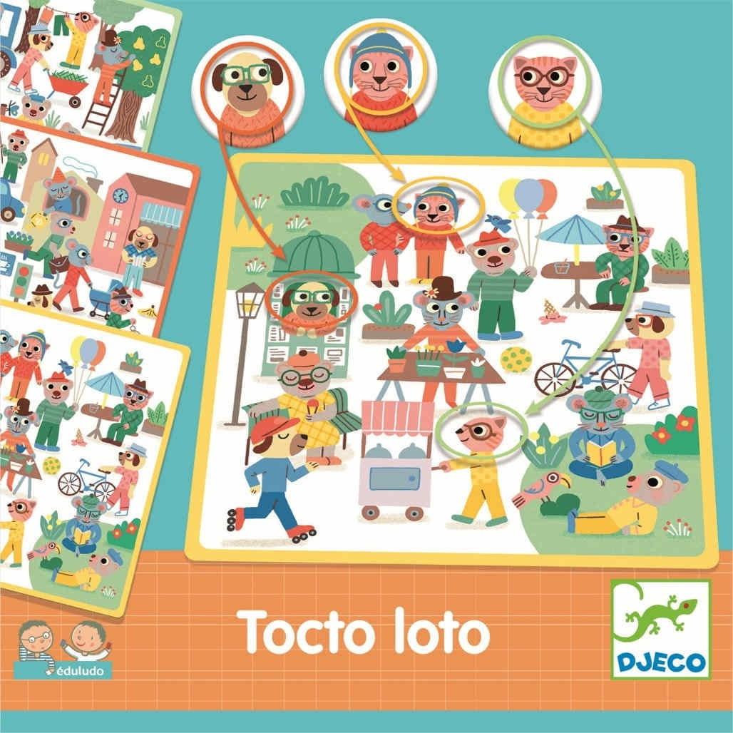 Настольная игра DJECO Найди-Объясни - Развивающие игры