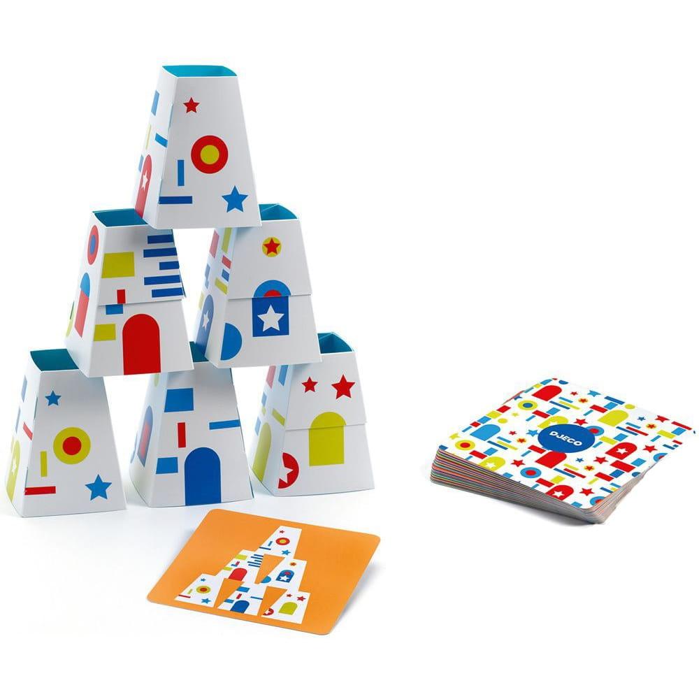 Настольная игра DJECO Пирамидки - Развивающие игры