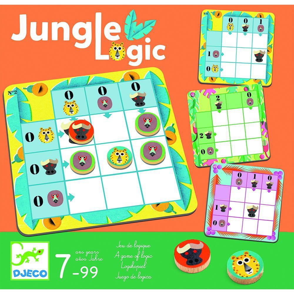 Настольная игра DJECO Джунгли - Развивающие игры