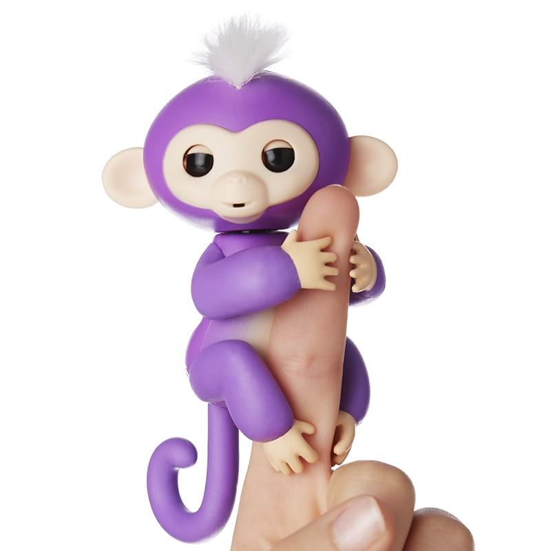 Интерактивная обезьянка FINGERLINGS Мия - Интерактивные животные