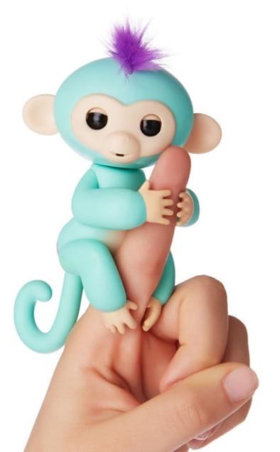 Интерактивная обезьянка FINGERLINGS Зоя - Интерактивные животные
