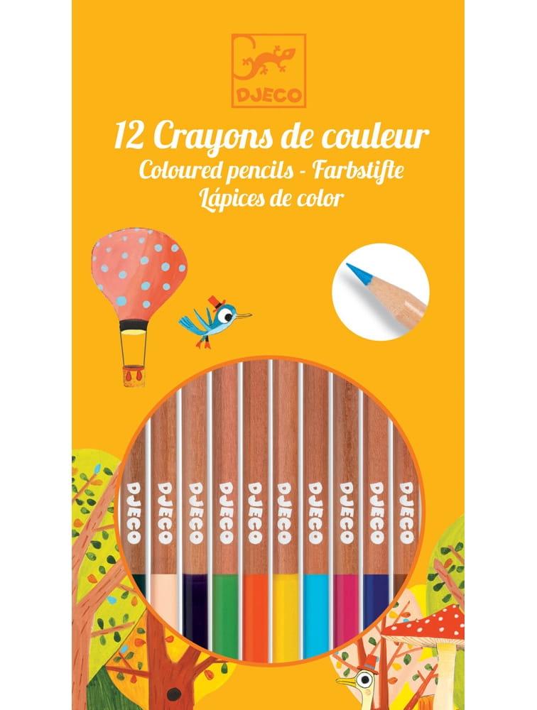 Набор цветных карандашей DJECO - 12 штук