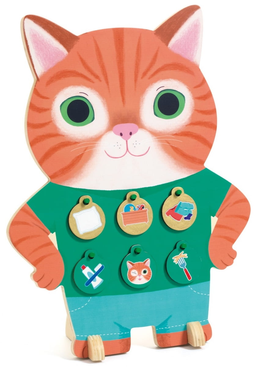 Развивающая игра DJECO Получи медальку  Котик - Развивающие игры
