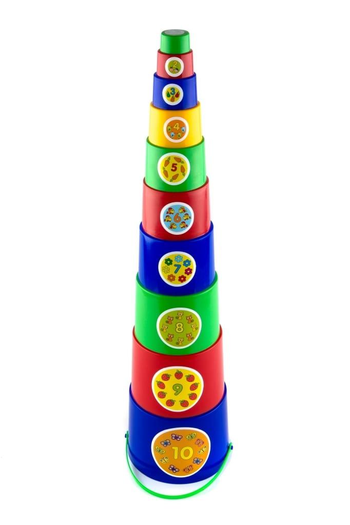 Пирамидка Пластмастер Матрешка - Развивающие центры и игрушки