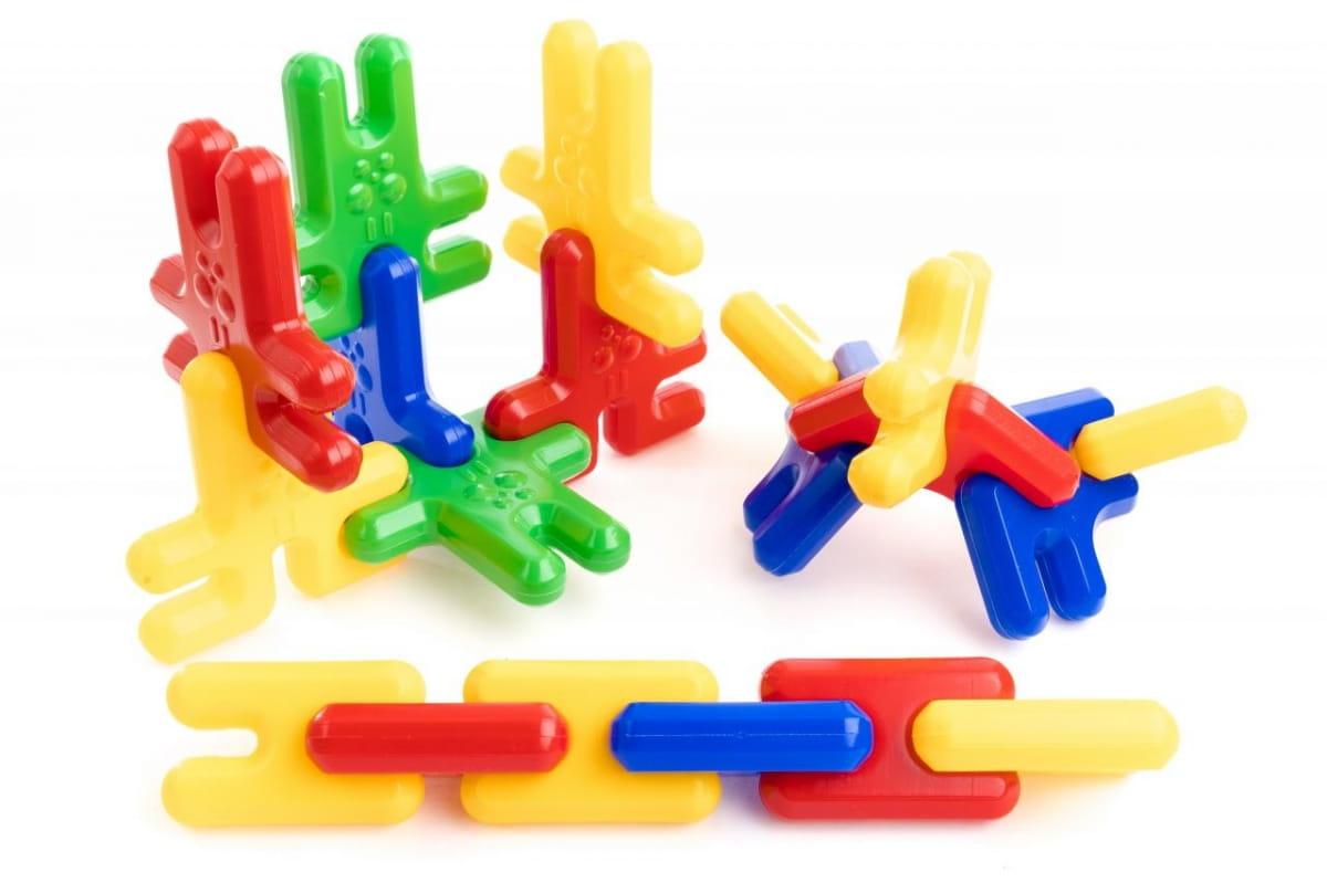 Игровой набор Пластмастер Зайка-собирайка  36 деталей - Развивающие центры и игрушки