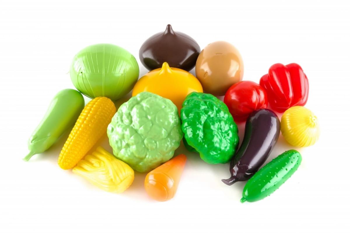 Игровой набор Пластмастер Большой набор овощей - Все для юной хозяйки