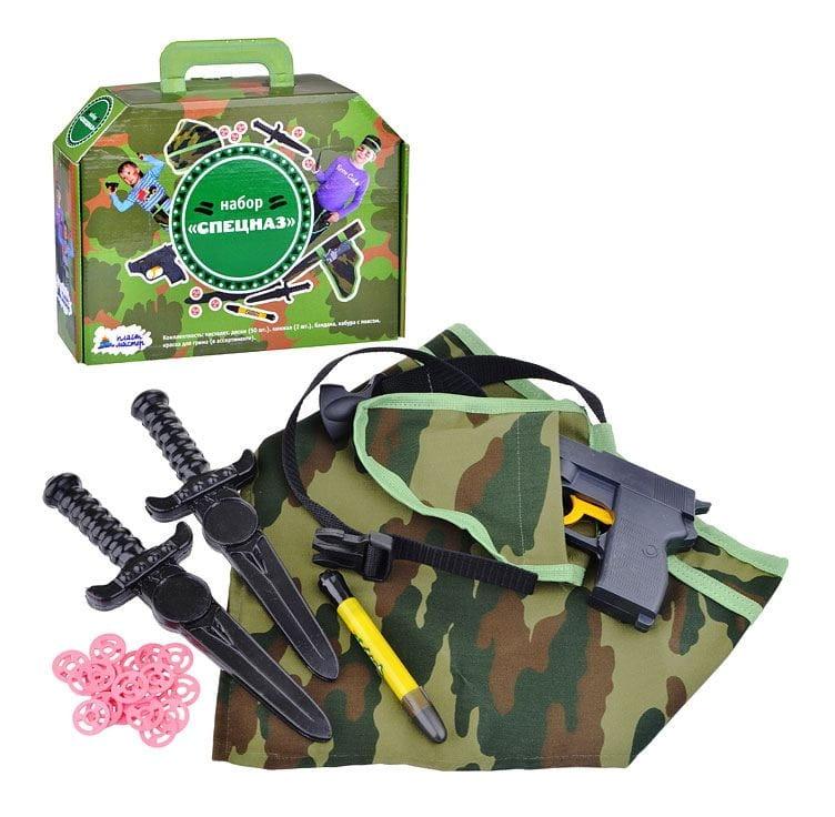 Игровой набор ПЛАСТМАСТЕР Спецназ - Оружие