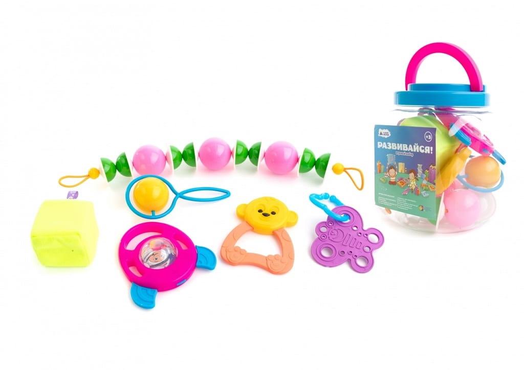 Набор Пластмастер Гремелка - Развивающие центры и игрушки