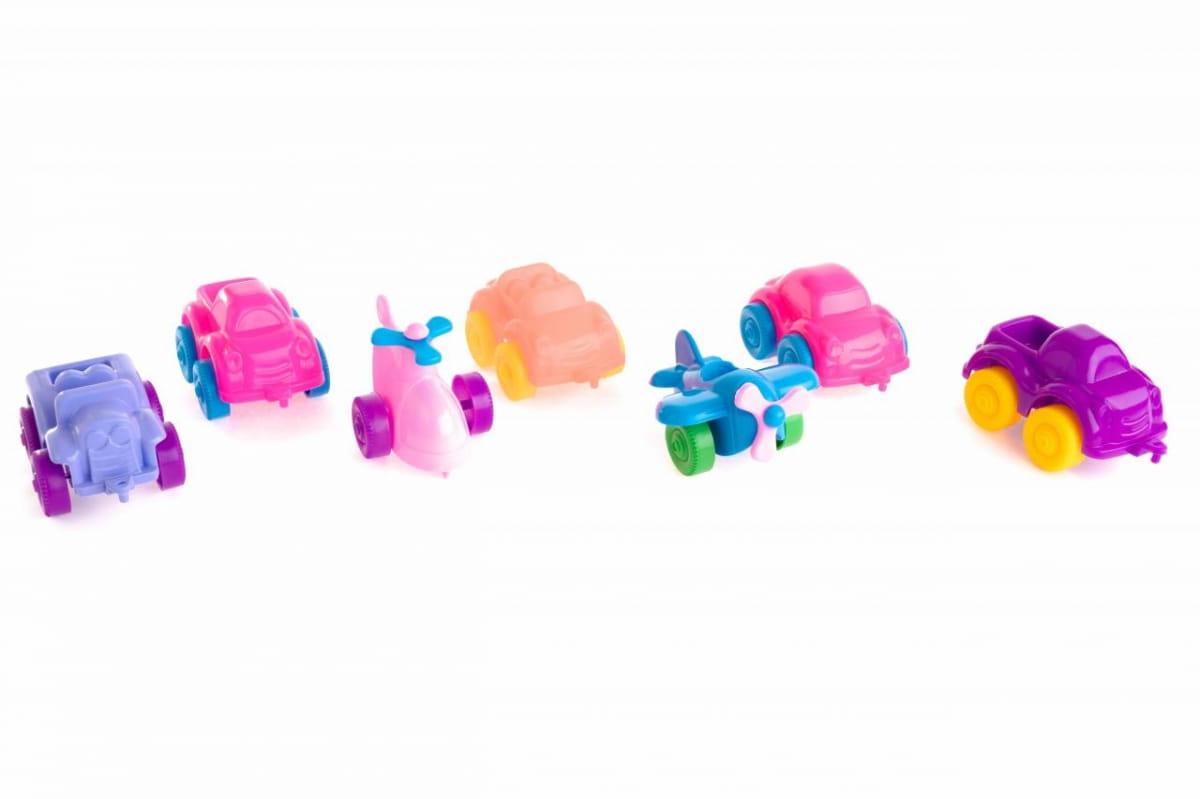Игровой набор Пластмастер Автопарк - Машинки и самолетики