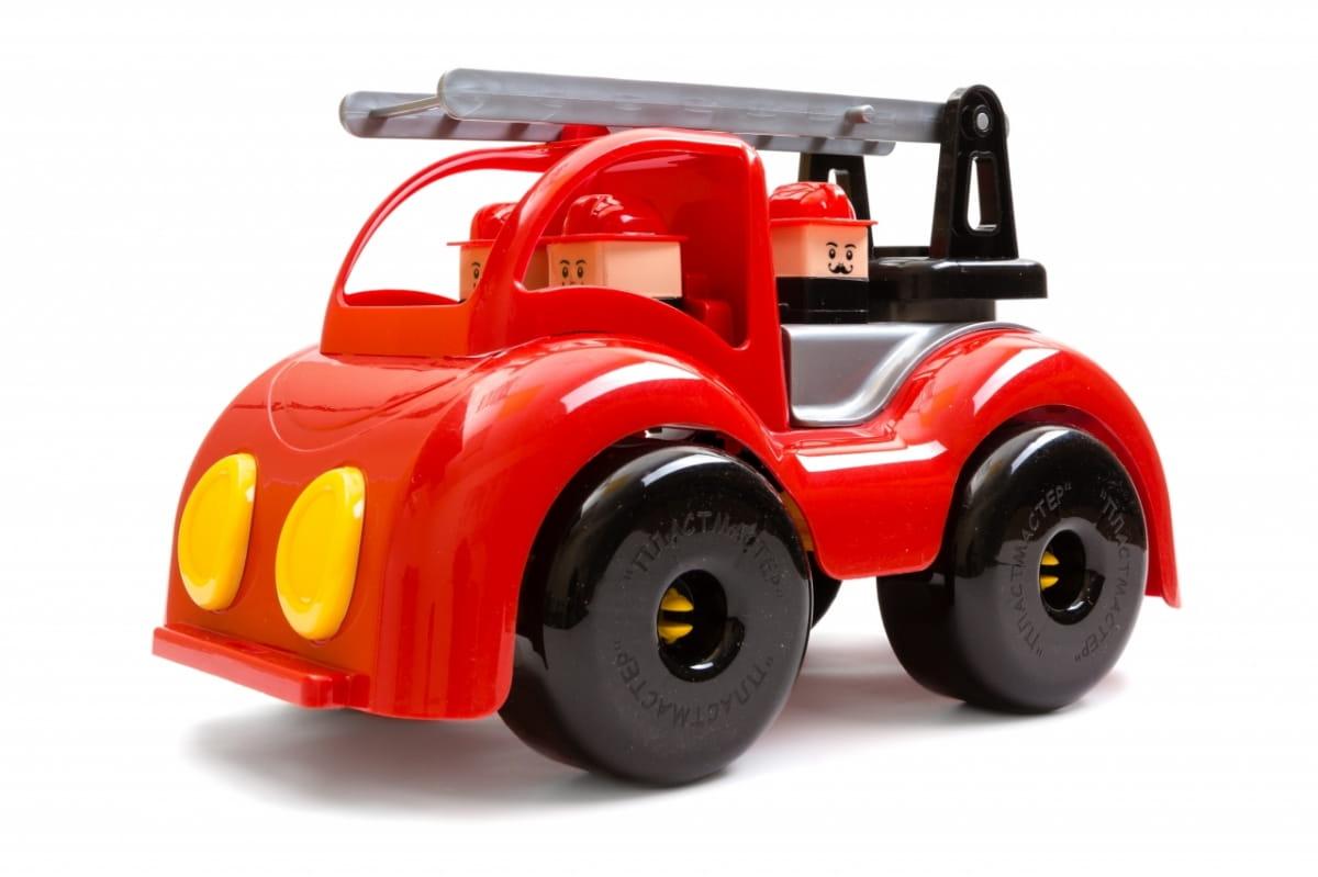 Игровой набор ПЛАСТМАСТЕР Пожарная машина Крепыш