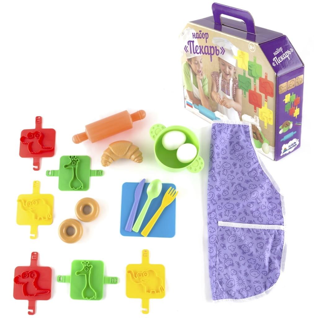 Игровой набор Пластмастер Пекарь - Все для юной хозяйки