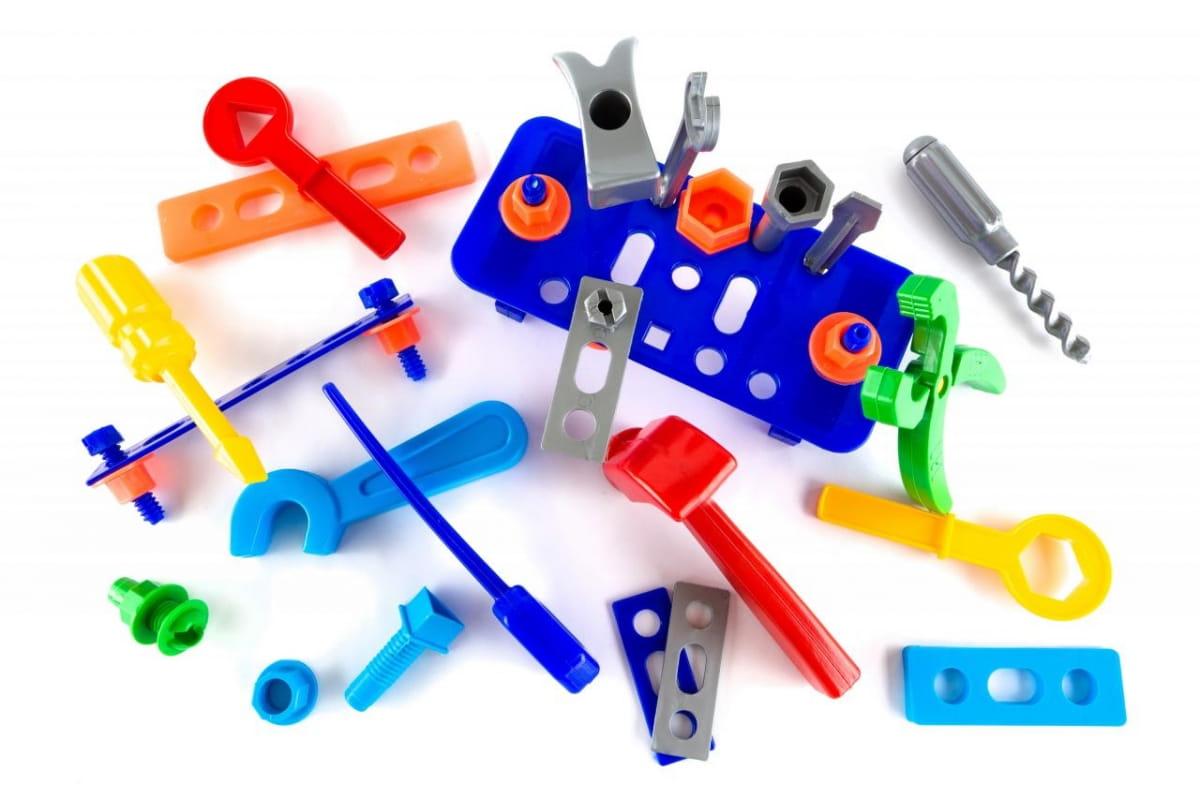 Игровой набор Пластмастер Большой набор инструментов