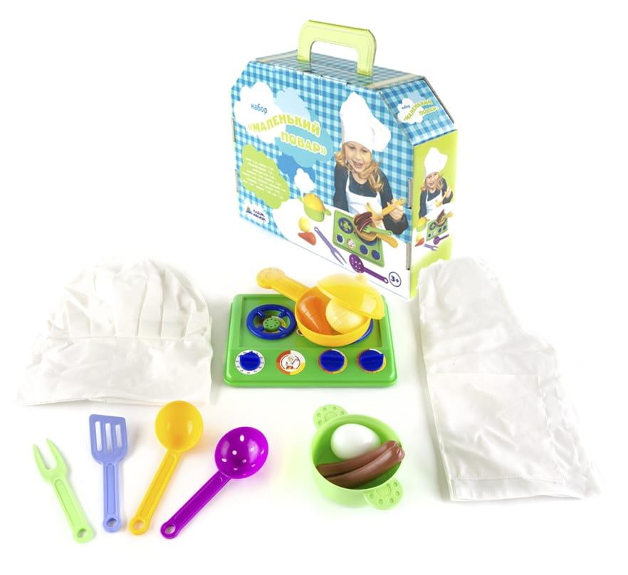 Игровой набор Пластмастер Маленький повар - Все для юной хозяйки