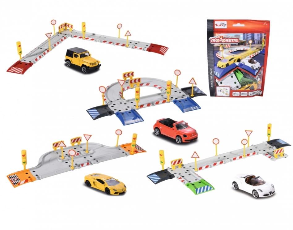 Дополнительные элементы MAJORETTE Creatix  20 штук (1 машинка) - Игровые наборы для мальчиков