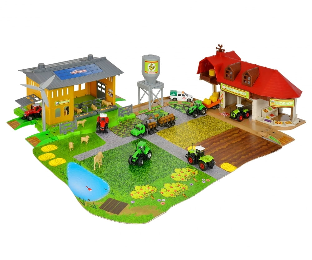 Игровой набор MAJORETTE Большая ферма Creatix (1 трактор)
