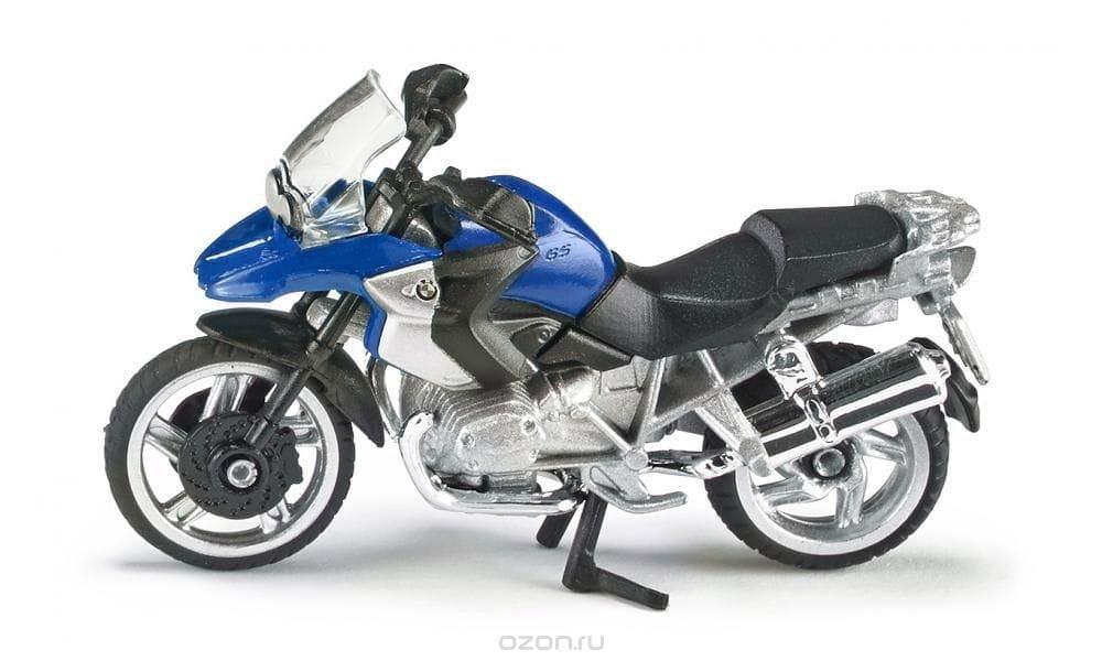 Мотоцикл SIKU BMW R1200 GS - синий
