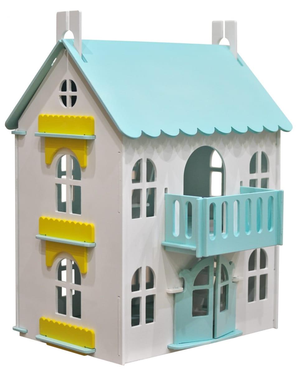 Кукольный домик WOOD LINES Арина - мятный