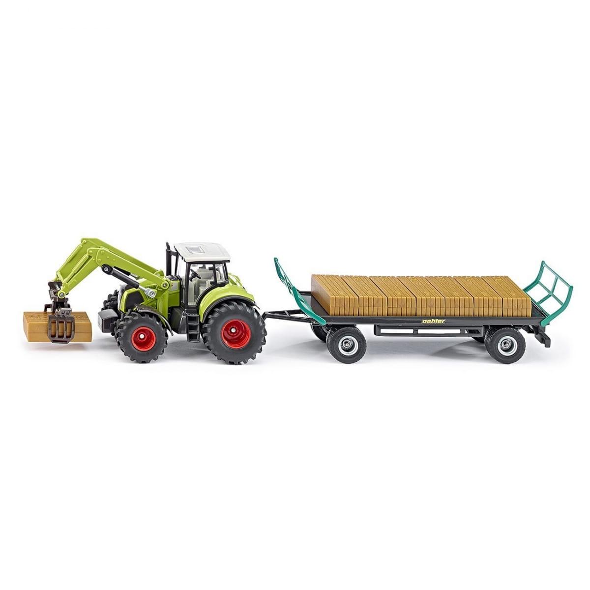 Трактор SIKU с захватом и прицепом - Спецтехника