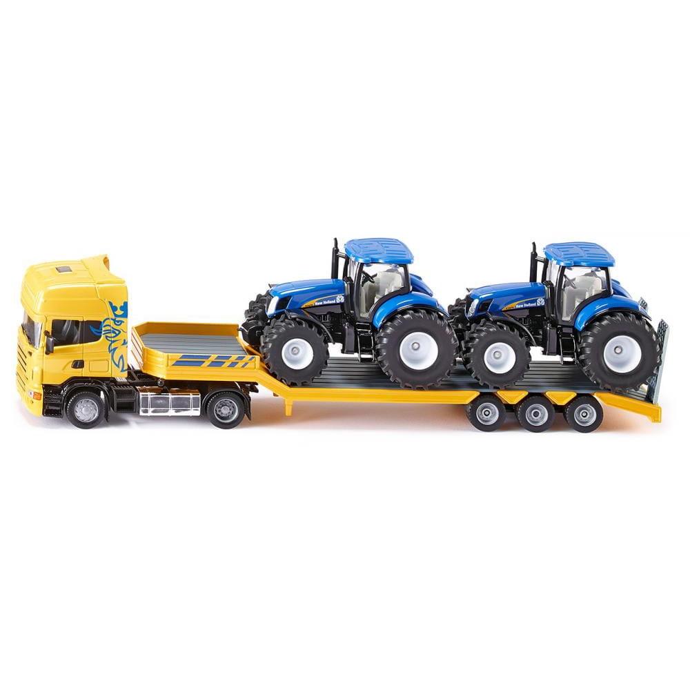 Набор SIKU Тягач с тракторами - Спецтехника