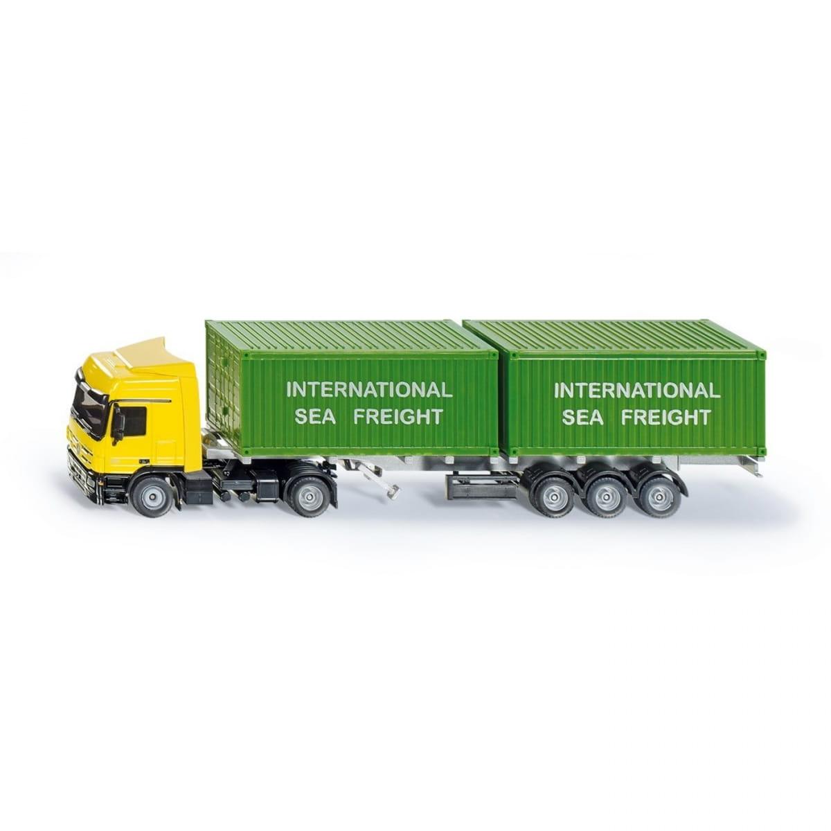Набор SIKU Тягач с контейнерами - Спецтехника