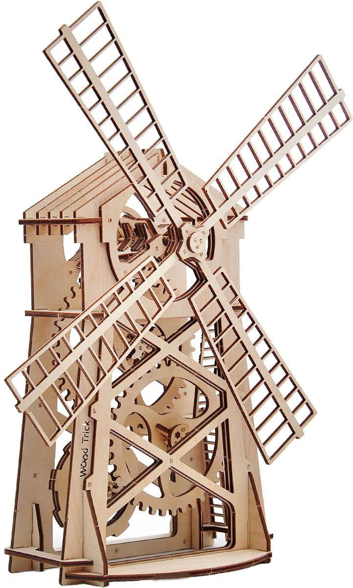 Конструктор деревянный WOOD TRICK Мельница - Деревянные конструкторы