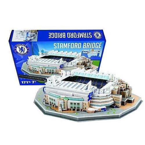Купить Объемный 3D пазл Nanostad Стадион клуба Челси (Великобритания) в интернет магазине игрушек и детских товаров
