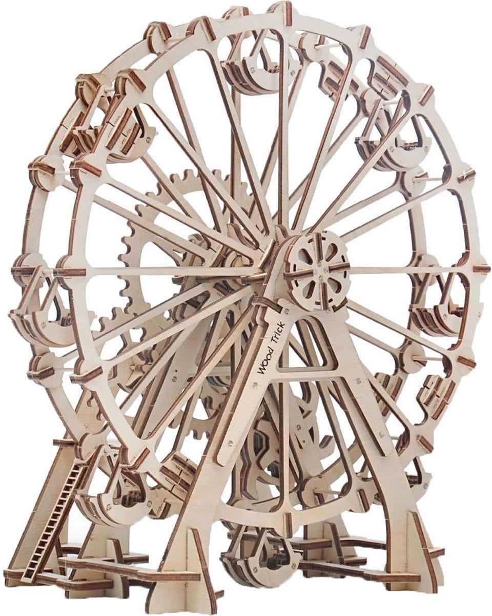 Конструктор деревянный WOOD TRICK Колесо обозрения - Деревянные конструкторы
