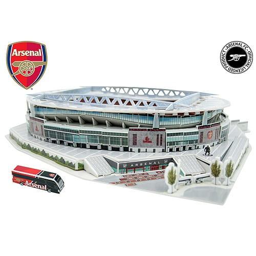 Купить Объемный 3D пазл Nanostad Стадион клуба Арсенал (Великобритания) в интернет магазине игрушек и детских товаров