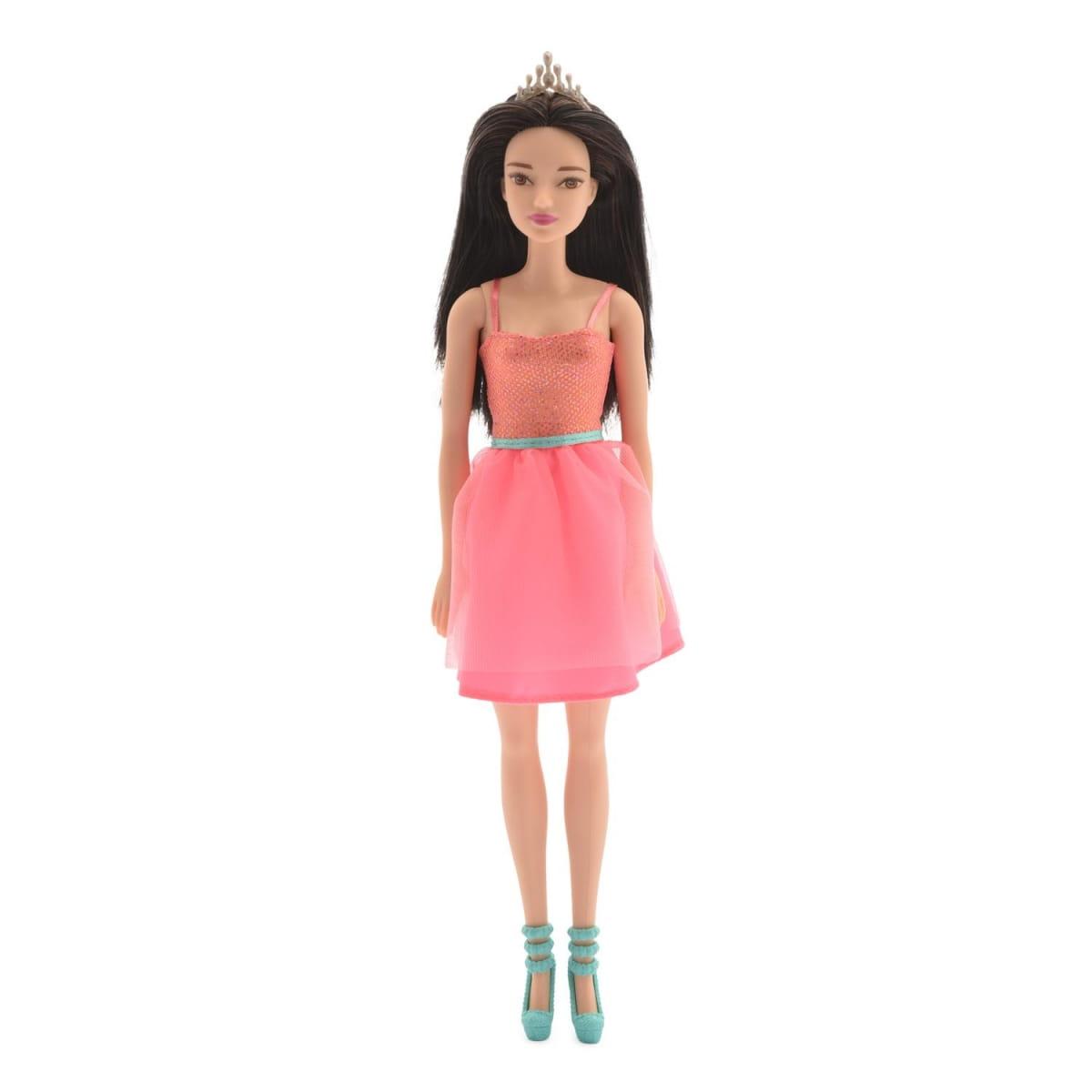 Кукла BARBIE Сияние моды - Кукла в розовом платье (Mattel)