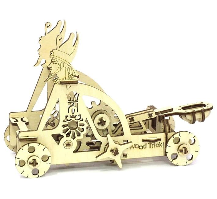 Конструктор деревянный WOOD TRICK Катапульта - Деревянные конструкторы