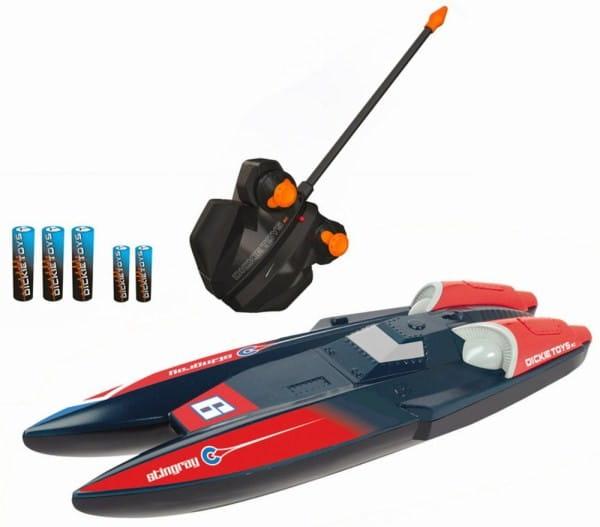 Купить Радиоупраляемый скоростной катер Dickie Skat Скат 31 см 1:28 в интернет магазине игрушек и детских товаров