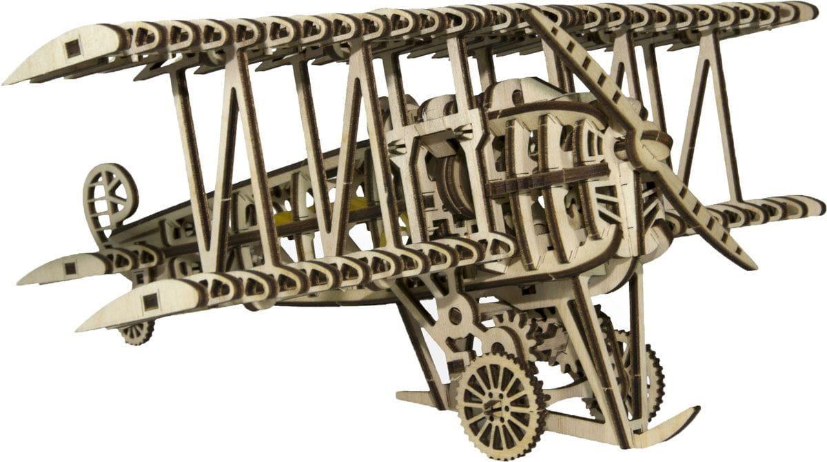 Конструктор деревянный WOOD TRICK Самолет - Деревянные конструкторы