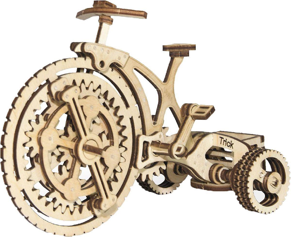 Конструктор деревянный WOOD TRICK Велосипед-визитница - Деревянные конструкторы