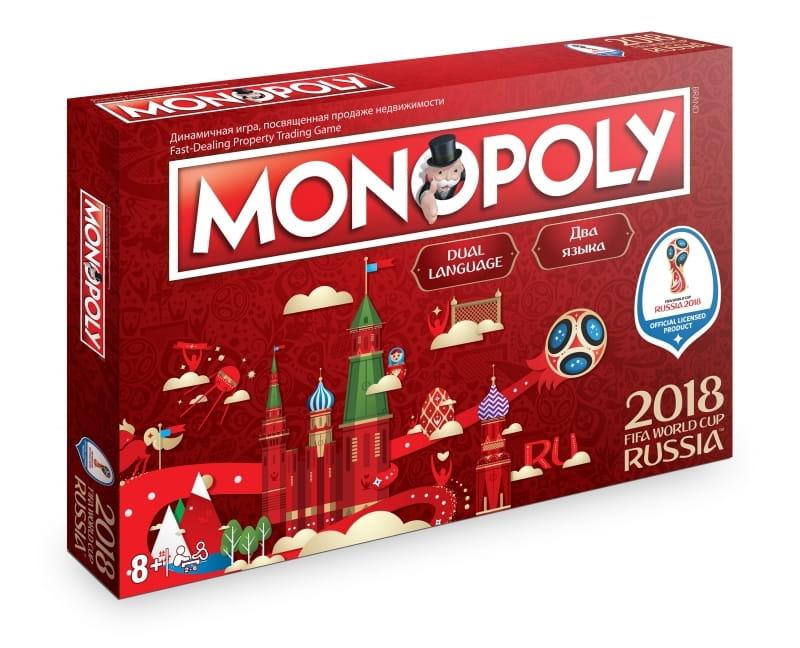 Настольная игра HASBRO Монополия Чемпионат мира по футболу FIFA 2018