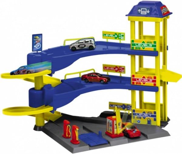 Купить Парковочная трехэтажная станция Dickie в интернет магазине игрушек и детских товаров
