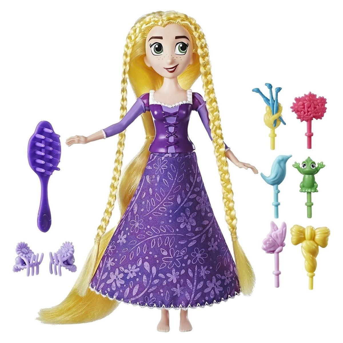Кукла Disney Princess Рапунцель с модной прической (HASBRO) - Принцессы Дисней