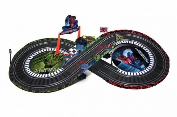 Купить Игровой трек Dickie Спайдер-мэн Spider-man (восьмерка) в интернет магазине игрушек и детских товаров