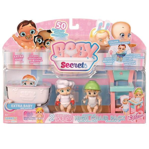 Игровой набор Baby Secrets с детским стульчиком (ZAPF CREATION)