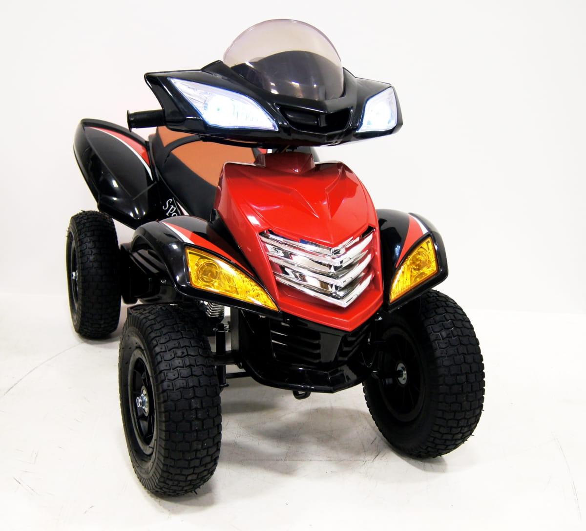 Квадроцикл River Toys Е005КХ-A с надувными колесами