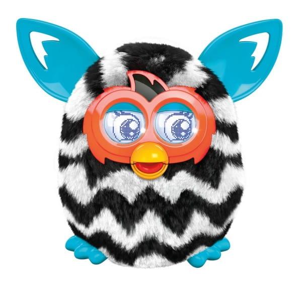 Купить Интерактивная игрушка Furby Boom Ферби Бум Черно-белый (Hasbro) в интернет магазине игрушек и детских товаров