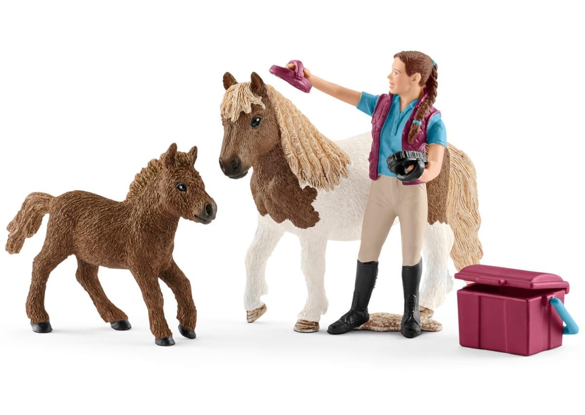 Набор SCHLEICH Конюх с шотландским пони - Игровые наборы для мальчиков
