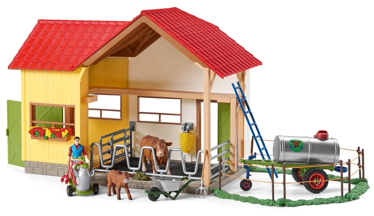 Набор SCHLEICH Жизнь на ферме - Игровые наборы для мальчиков