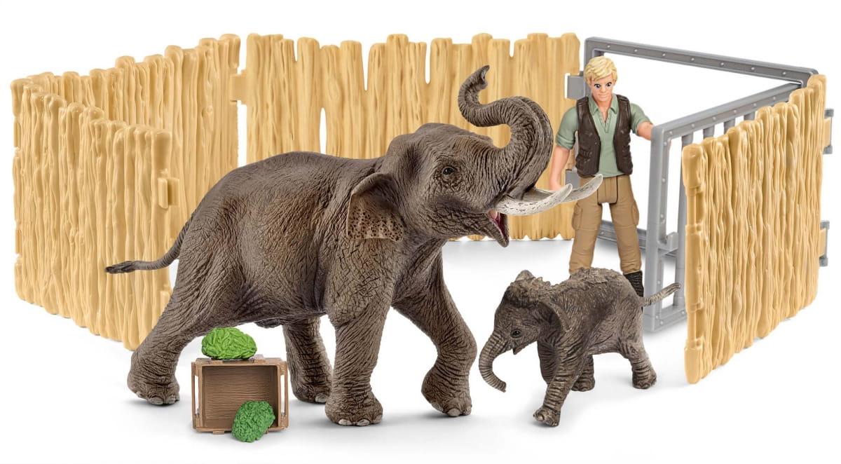 Набор SCHLEICH Дом для слона - Фигурки животных