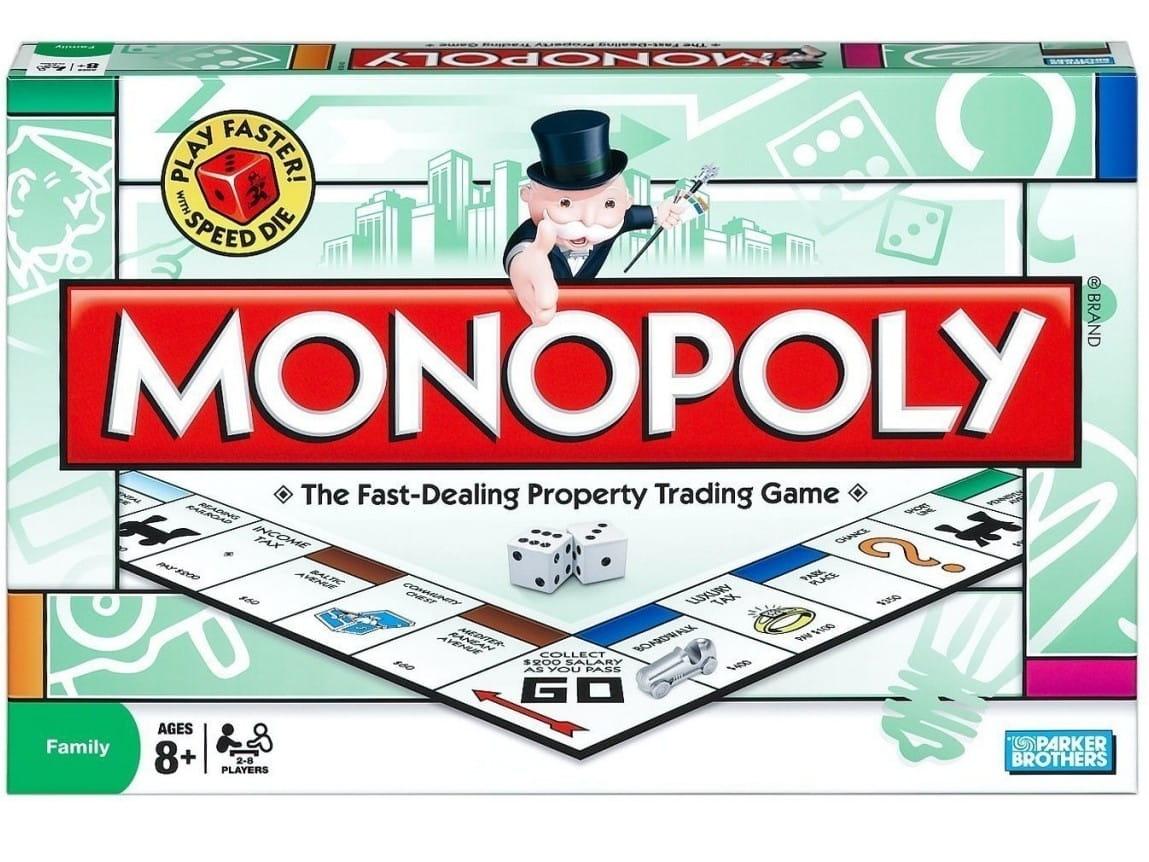 Настольная игра HASBRO Монополия