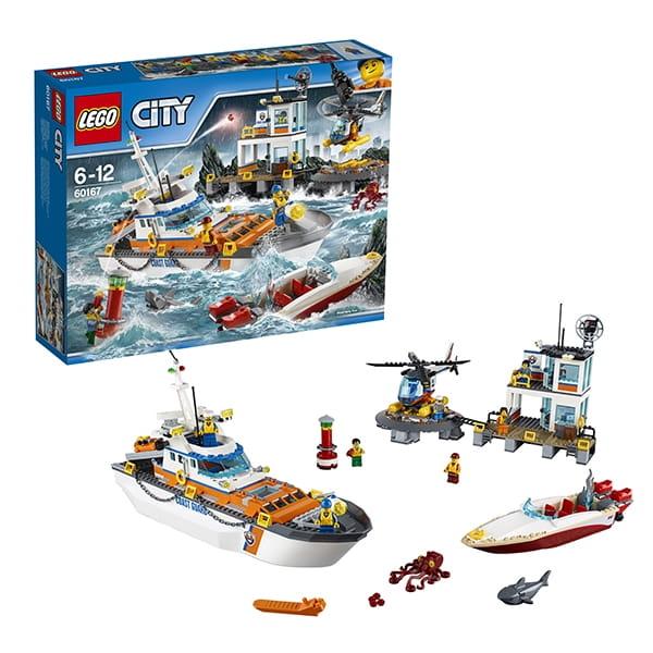 Конструктор LEGO City Лего Город Штаб береговой охраны