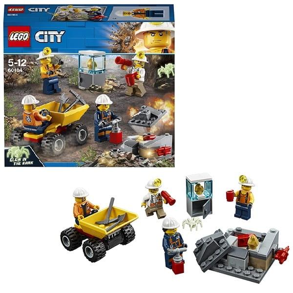 Конструктор LEGO City Лего Город Mining Бригада шахтеров
