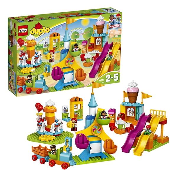 Конструктор LEGO Duplo Лего Дупло Большой парк аттракционов